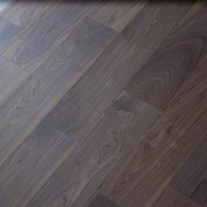 American Walnut Verbier Flooring Dark Stain
