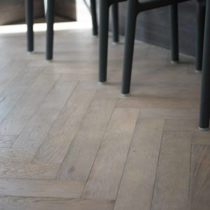 Dominica Oak Herringbone Grey Weathered Oak
