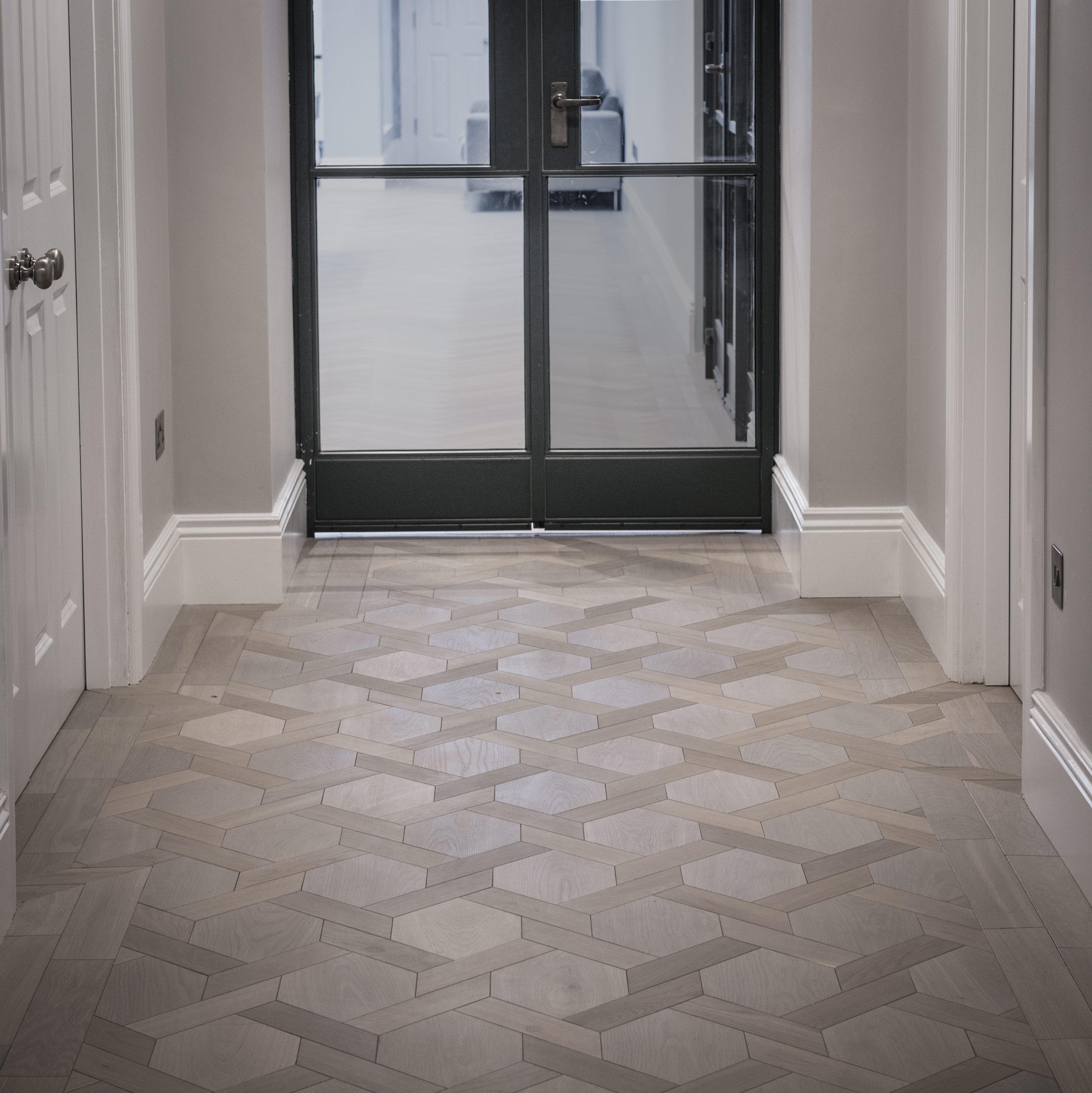 Harley Oak Mansion Weave Parquet Flooring