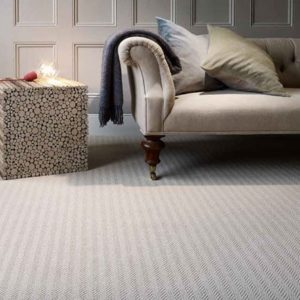 Wool Geometric Herringbone