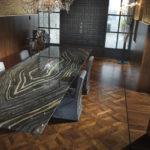 American Walnut F118 Parquet Dining Room