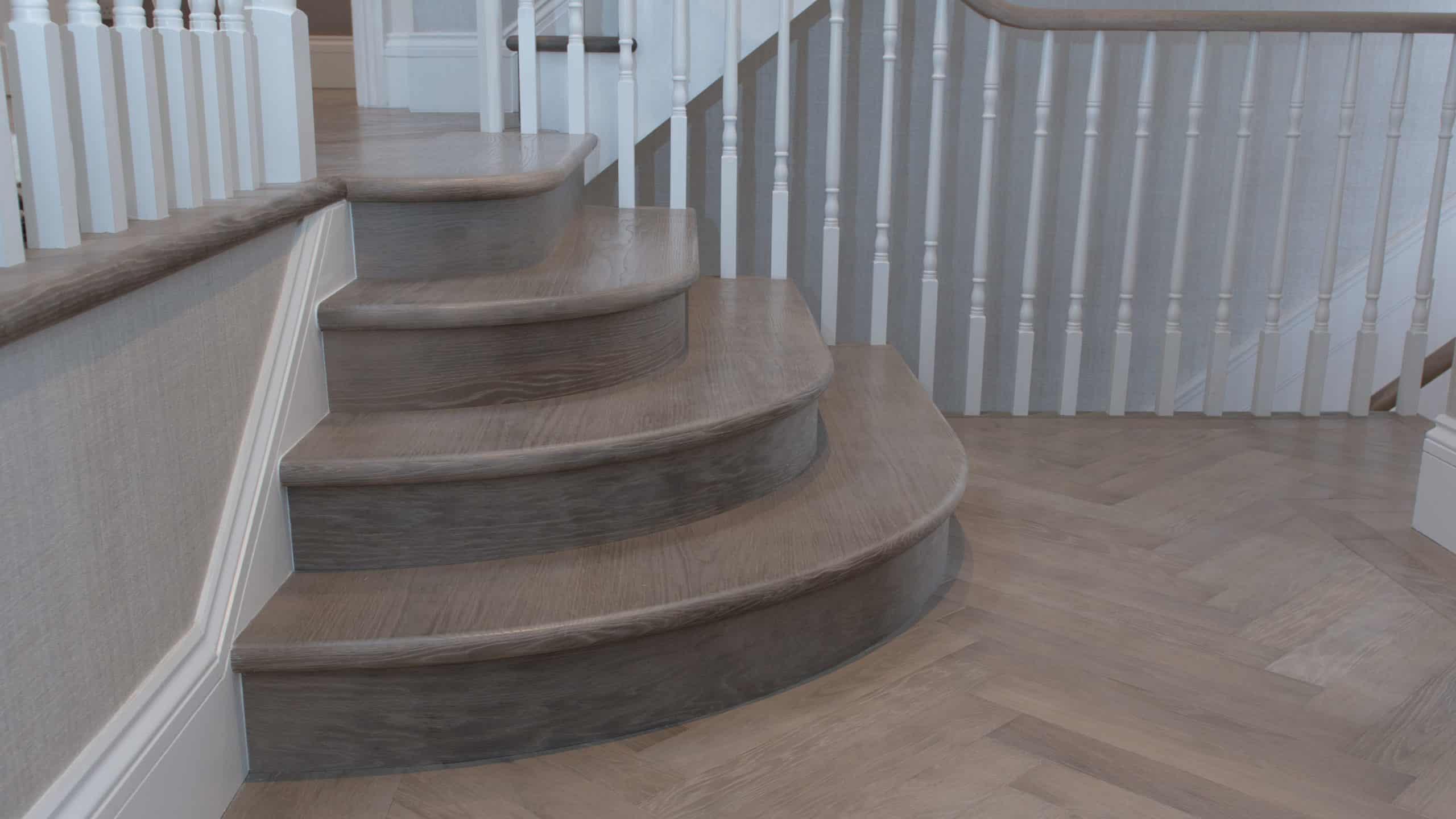 Dominica Oak Flooring on Stairs