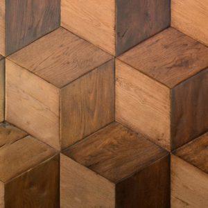 Aged Oak Cubes 3 Colours