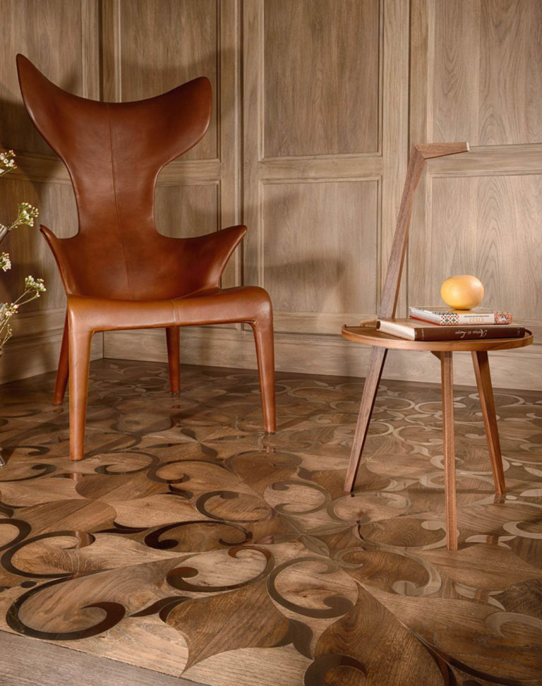 marquetry wood flooring