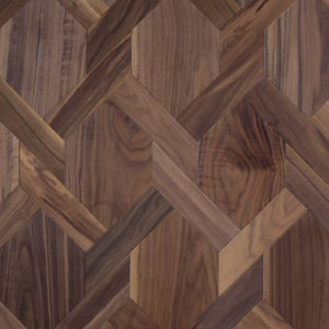 American Walnut in Mansion Weave Design