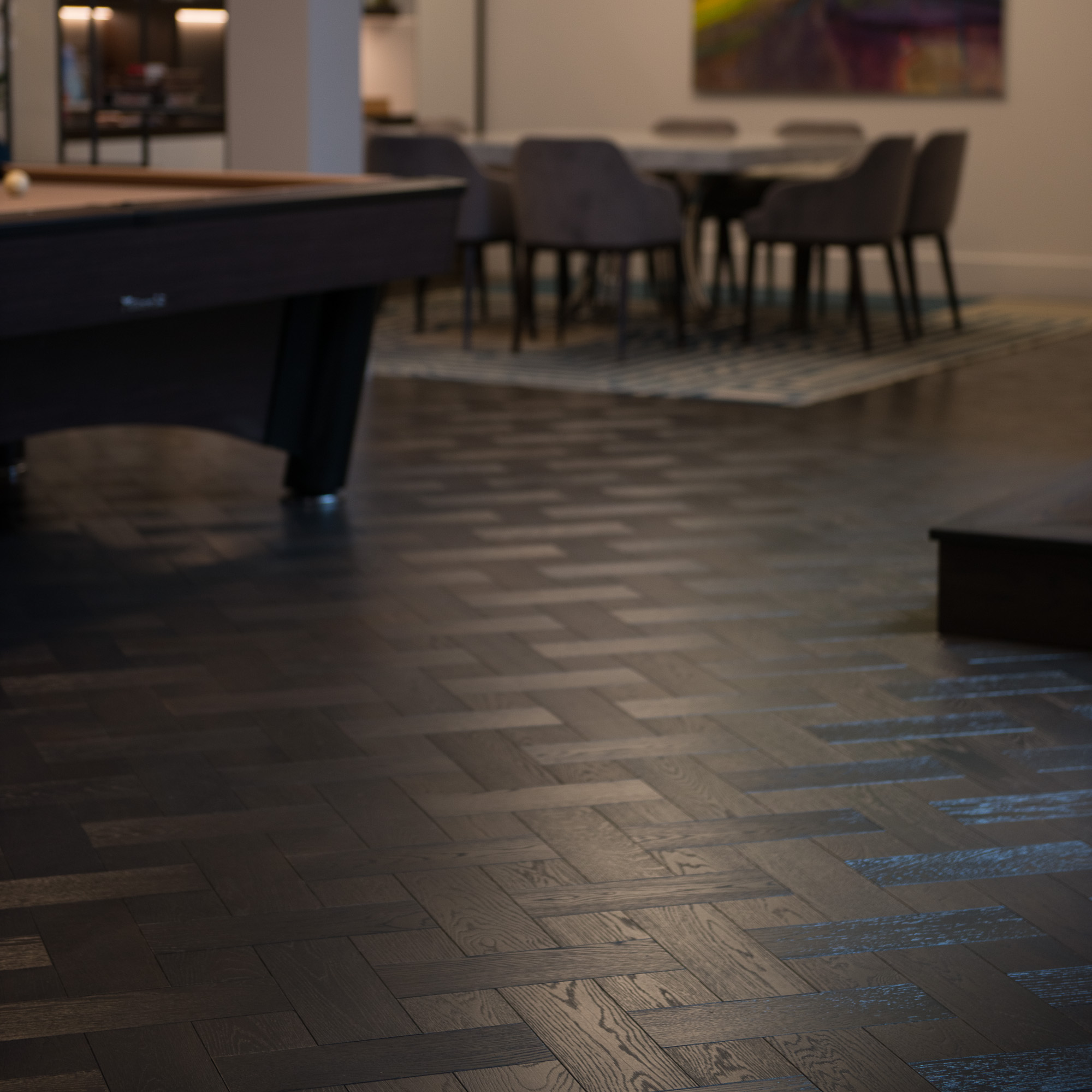 Dark Wood Floor Parquet