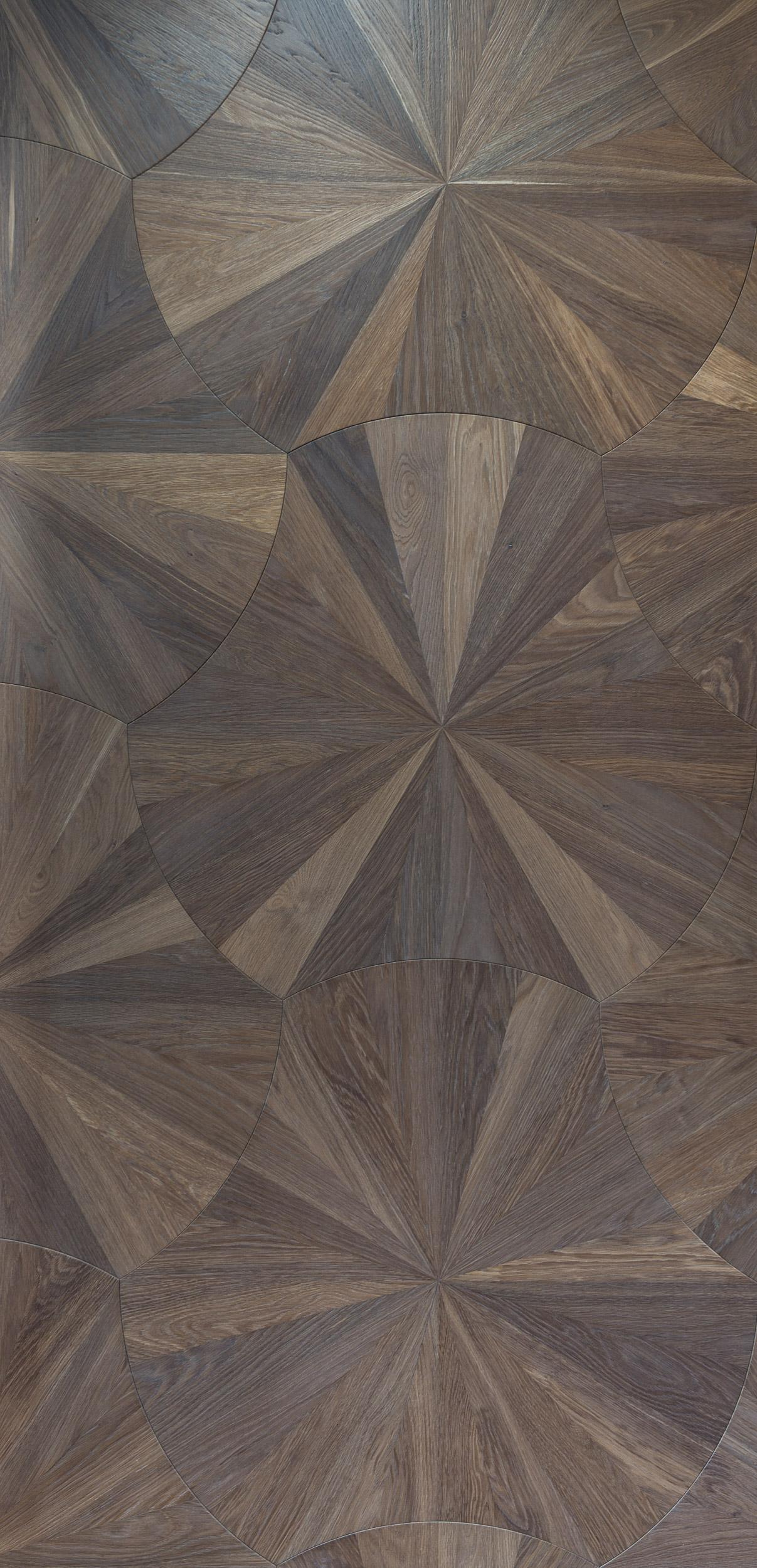 Round Parquet Panels