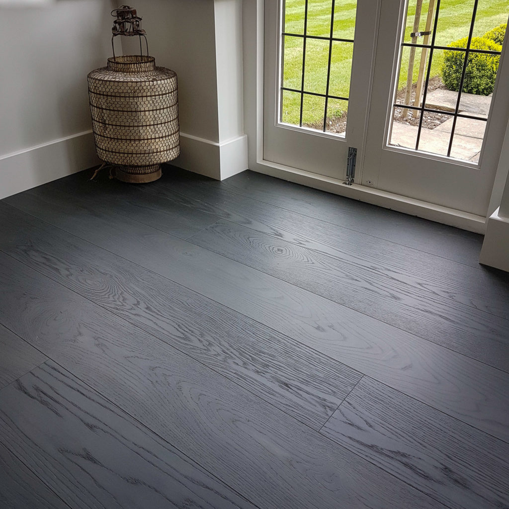 Dark Grey Wood flooring - Antigua Oak