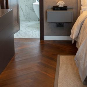 medium thermo oak flooring