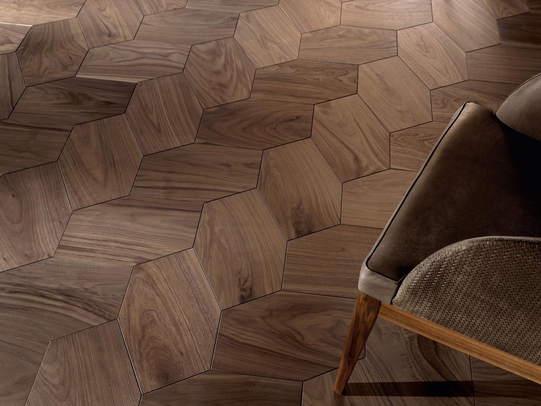 American Walnut Honeycomb pattern