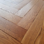 Distressed Oak antiqued oiled and wax finishing