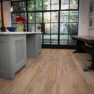 Reclaimed Oak flooring white lucca
