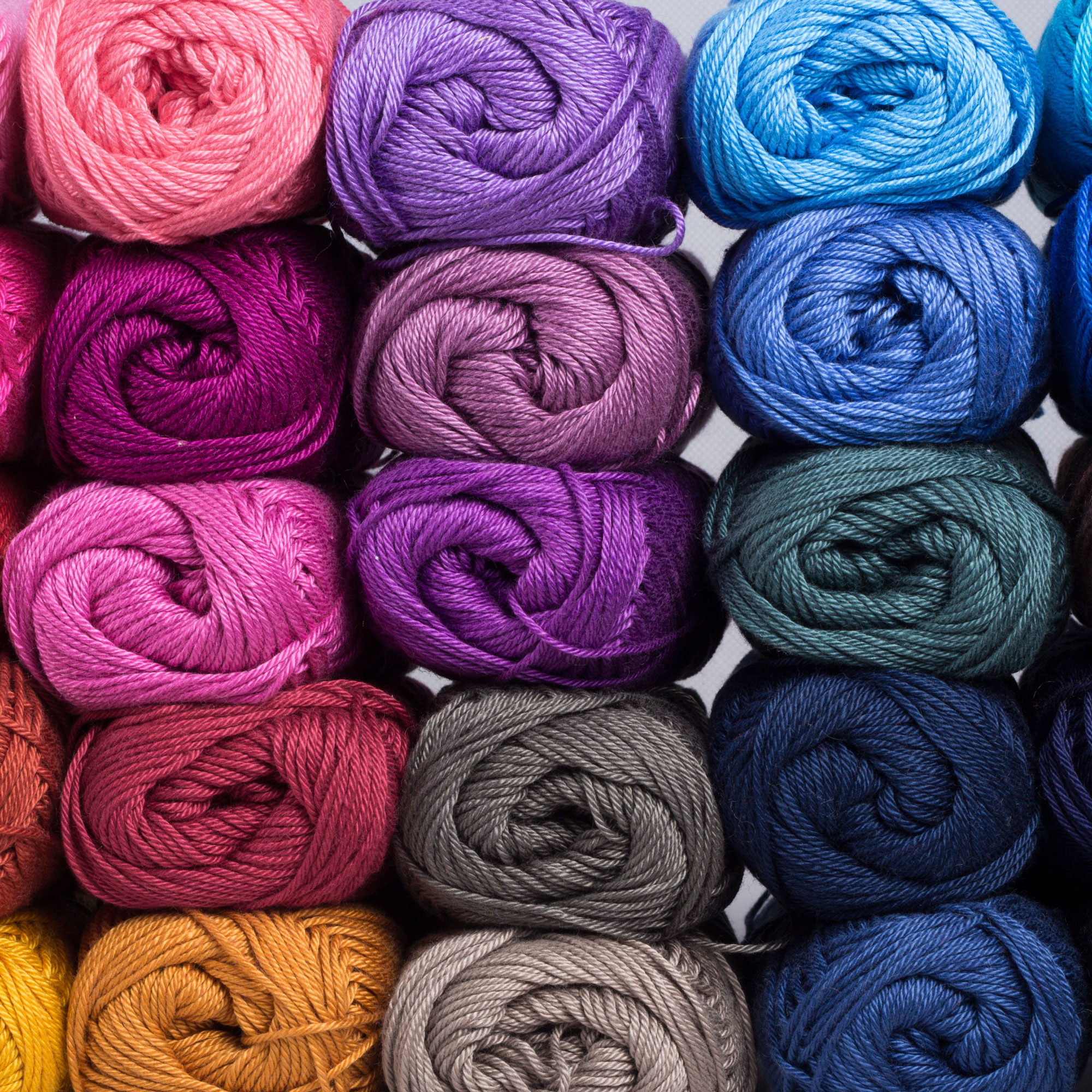 Wool Yarn Colours for Flatweave Carpets