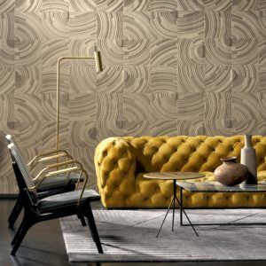 Contemporary wallpaper - velveteen