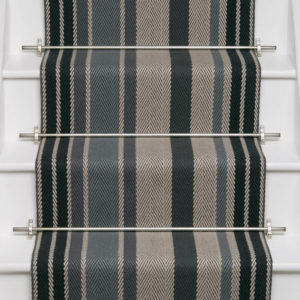 Switch French Grey Flatweave Stair Runner