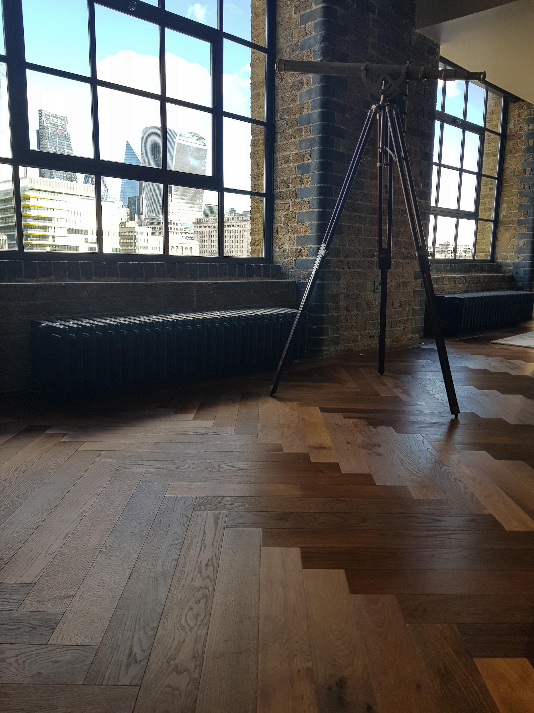 Dark Oak Flooring medium Thermo